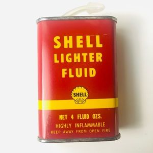 Vintage Shell Tin in Great Condition
